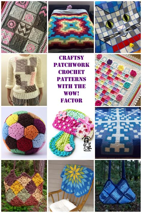 Patchwork Crafts - crochet projects creatys for