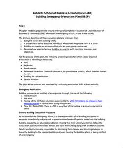emergency evacuation plan template 11 evacuation plan templates free sle exle
