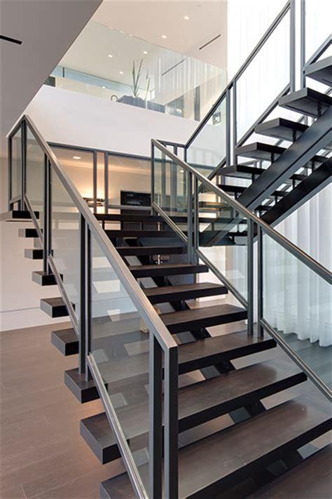 modern staircase design carla ridge residence spectacular beverly mega