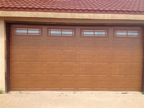 Overhead Door Amarillo Amarillo Residential Garage Doors Contemporary Garage And Shed Other Metro By Willow