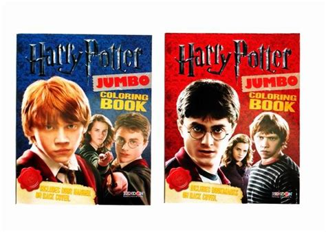 harry potter jumbo coloring book harry potter jumbo coloring books made in the usa