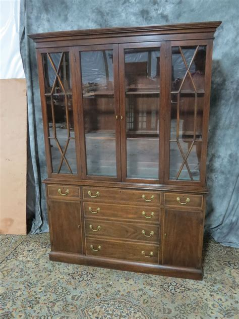 henkel harris mahogany china cabinet casey and gram