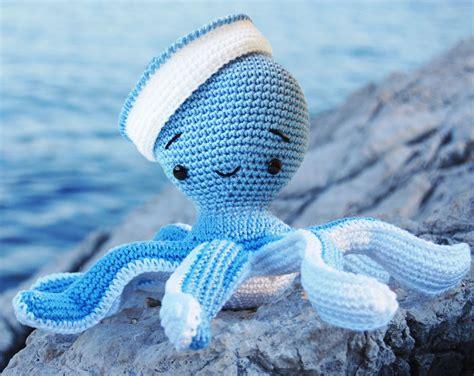 amigurumi pattern octopus pepika amigurumi sailor octopus pattern