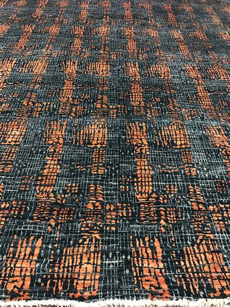 Rugs Az by Green Gray Orange Rug Scottsdale Az Overview