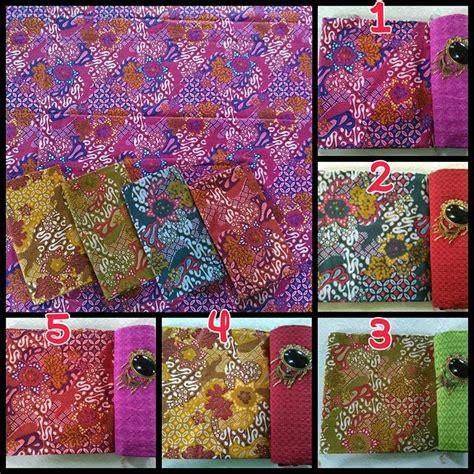 1 Set Kain Batik Print Prada Dan Embos 2 kain batik pekalongan spesial print halus cabut warna