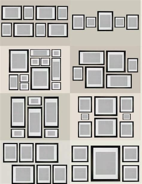 photo wall templates how to create a gallery style photo wall my of