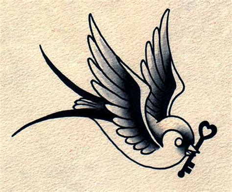 tattoo old school bird significado 20 lindas tattoos de andorinha fotos significado