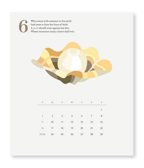 Birthstone Calendar The Birthstone Calendar On Pratt Portfolios