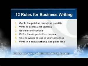 how can i write a business 12 business writing tips for effective business emails and letters