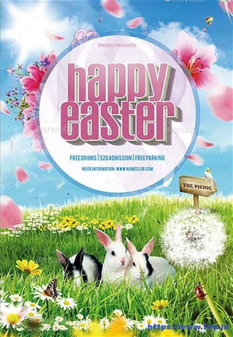 easter flyer template 60 best easter flyer print templates 2018 frip in