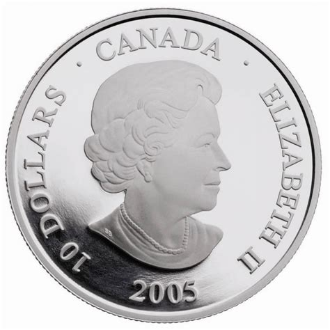 10 Dollar Silver Coin by 2005 Canada Silver 10 Dollar Coin Year Of The Veteran