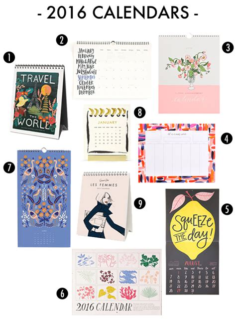 kate spade desk calendar best planners and desk calendars for 2017 stylish 2017