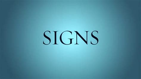 signs movie swing away signs 2002 art of the title