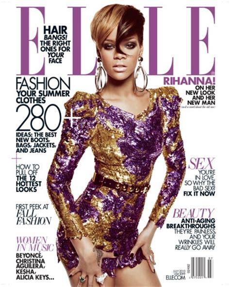 rihanna en couverture de magazine