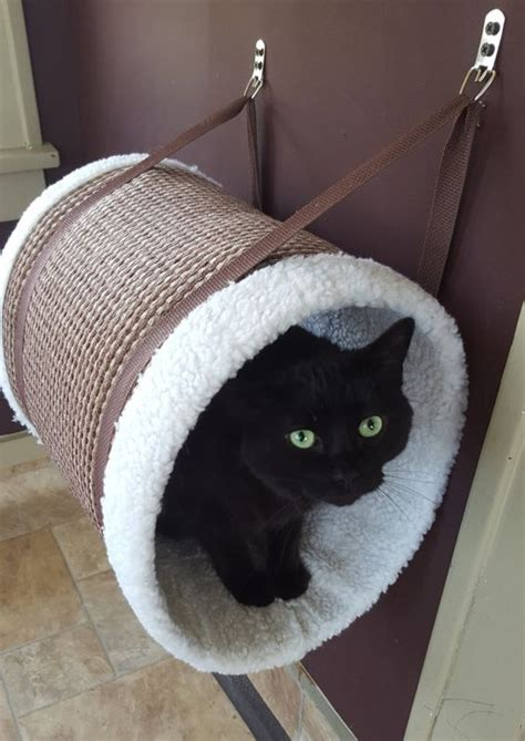 hanging cat bed caramel hanging cat tunnel cat perch cat bed cat