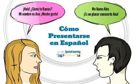 las preguntas en espanol c 243 mo presentarse en espa 241 ol expresiones y ejercicios