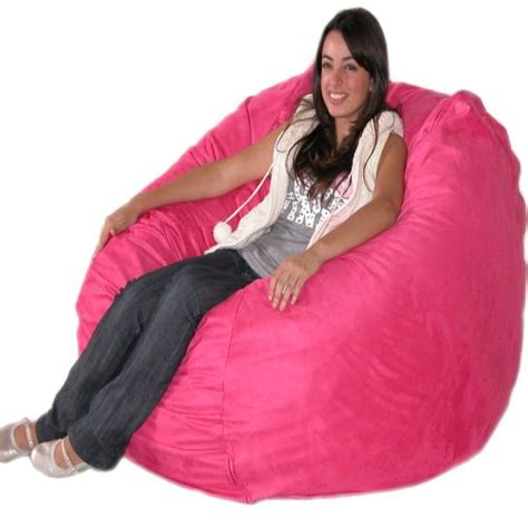 The Cozy Sac Bean Bag Chairs by Black Friday 4 Feet Pink Cozy Sac Bean Bag Chair Love
