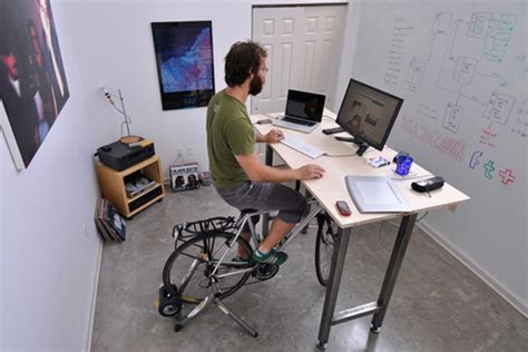 Office Desk Exercise Top 6 Exercise And Standing Desks To Get You In Shape While You Work Kickstand Exerdesk