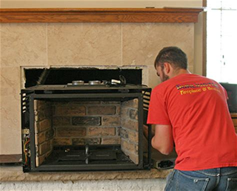 How To Fit A Fireplace Insert a guide to convert a gas fireplace to an electric insertportablefireplace