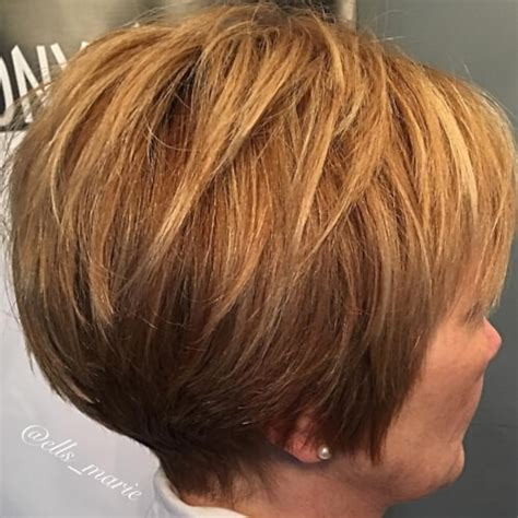 conservative layered womenshairstyles 32 fresh and elegant hairstyles for women over 50 page 3