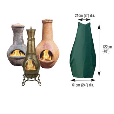 chiminea dimensions customer reviews for bosmere large chiminea cover