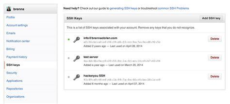 git tutorial ssh key ssh keys for github