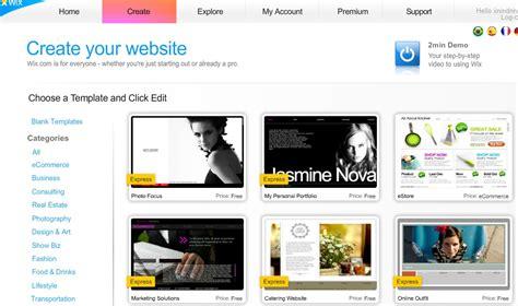 cara membuat website gratis dengan wix sepotong episode membuat web menggunakan wix com gratis