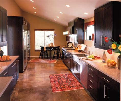 Modern Galley Kitchen Design Contemporary Galley Kitchen Design Decora Cabinetry