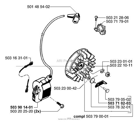 husqvarna 55 rancher parts diagram husqvarna 55 rancher epa 2000 05 parts diagram for