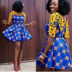 ankara gown styles creative ankara short gown dress dezango fashion zone