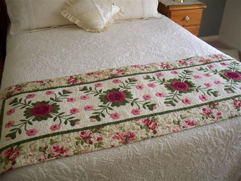 Patchwork Bed Runner Patterns - sweet dreams 7 quilted bed throw patterns