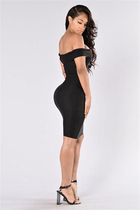 Chik Dress chic dress black