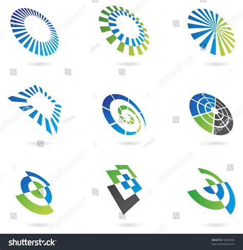 shutterstock design elements and layout logos graphic design elements stock vector 16567834
