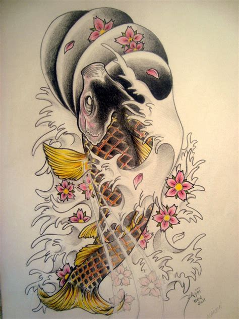carpa tattoo by sagui73 on deviantart