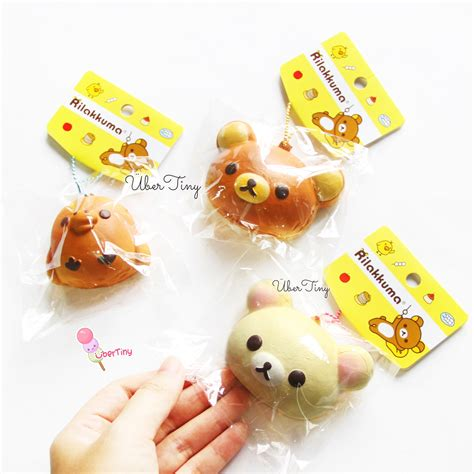 Squishy Licensed rilakkuma mascot squishy licensed 183 uber tiny 183 store powered by storenvy