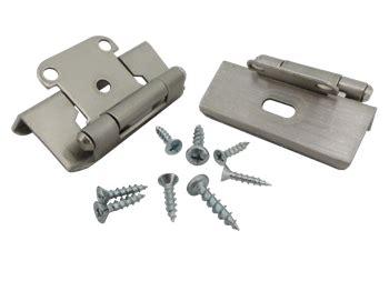 satin nickel cabinet hinges cabinet hinge 1 2 inch overlay satin nickel hr1012fsn2hp