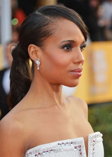 hair pony tail for african hair elegant updo and ponytail hairstyles for black women