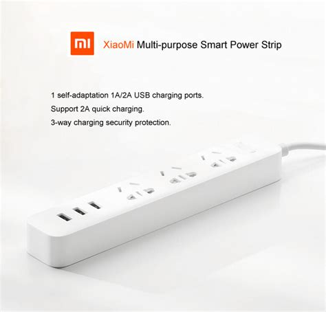 Baru Charger Xiaomi Mi Smart Power With 3 Usb Port 2a Fast jual xiaomi mi smartpower adapter with 3 usb