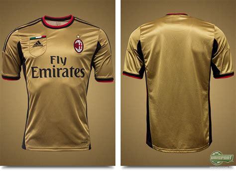 Ac Milan Gold by Ac Milan Unveil Their New Golden 3rd Shirt