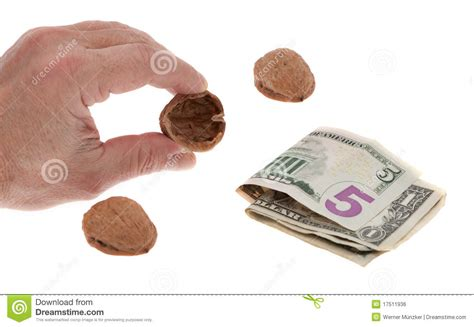 Nbc Shells Out Money For Royalty by Shell With Money Royalty Free Stock Image Image