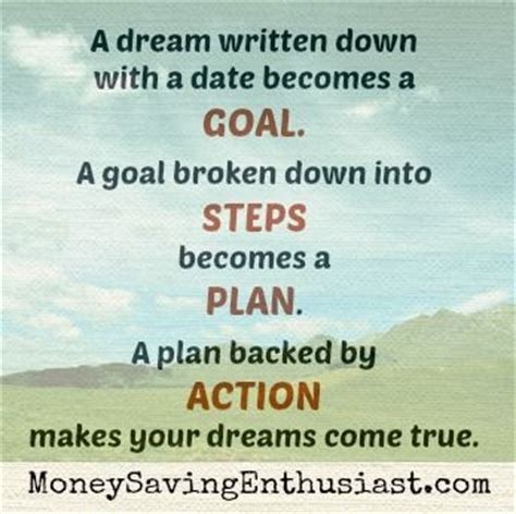 planning your dreams the 25 best goal setting quotes on pinterest set set