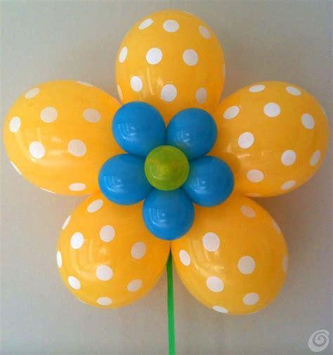 fiore palloncini fiori fai da te con palloncini ad elio casa e trend