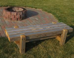 Firepit Bench Pit Bench Home Outside