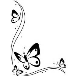 black and white butterfly design clipart best