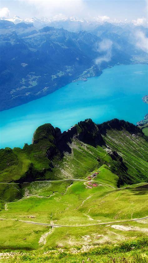 mc wallpaper emerald lake view mountain papersco