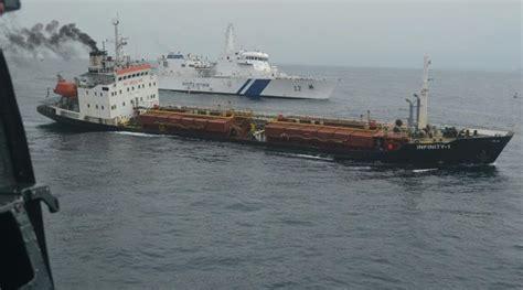 boat definition in hindi navy coast guard assist merchant navy ship off goa coast