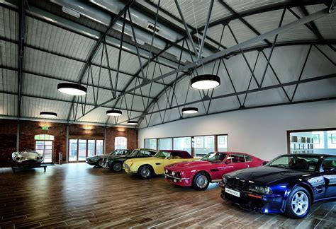 aston martin showroom aston martin launches the heritage showroom to sell
