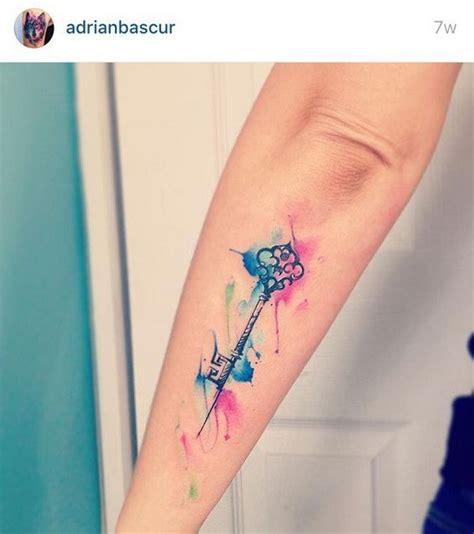 geometric key tattoo 60 awesome watercolor tattoo designs for creative juice