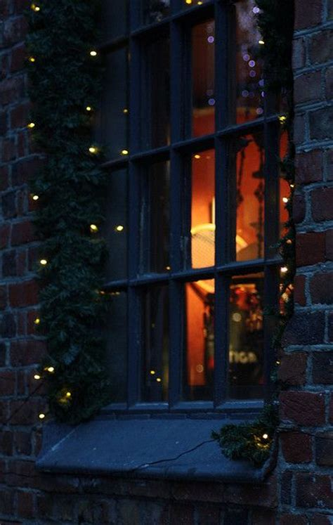 Christmas Time Holiday Ideas Christmas Time Starry Lights In Windows