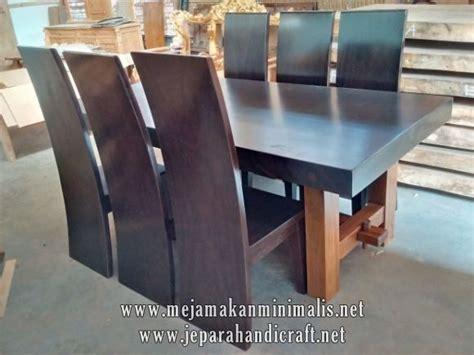 Meja Makan Kayu 6 Kursi best seller set meja makan kayu trembesi harga termurah